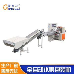 KL-350福建桔柚套袋机水果全自动包装机新科力桔柚包装机